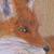 Renard à la brune - Peintre de Nihonga,